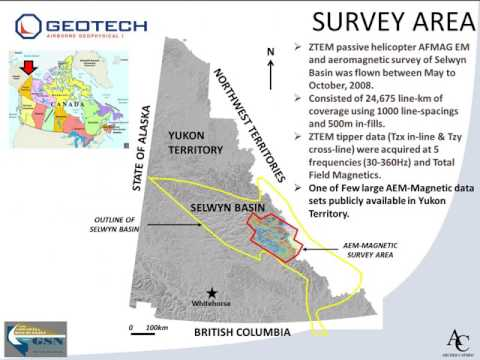 8- Regional Airborne EM and Magnetic Surveys in Selwyn Basin- Jean Legault, 2015
