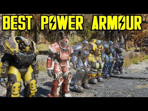 Best Power Armour In Fallout 76