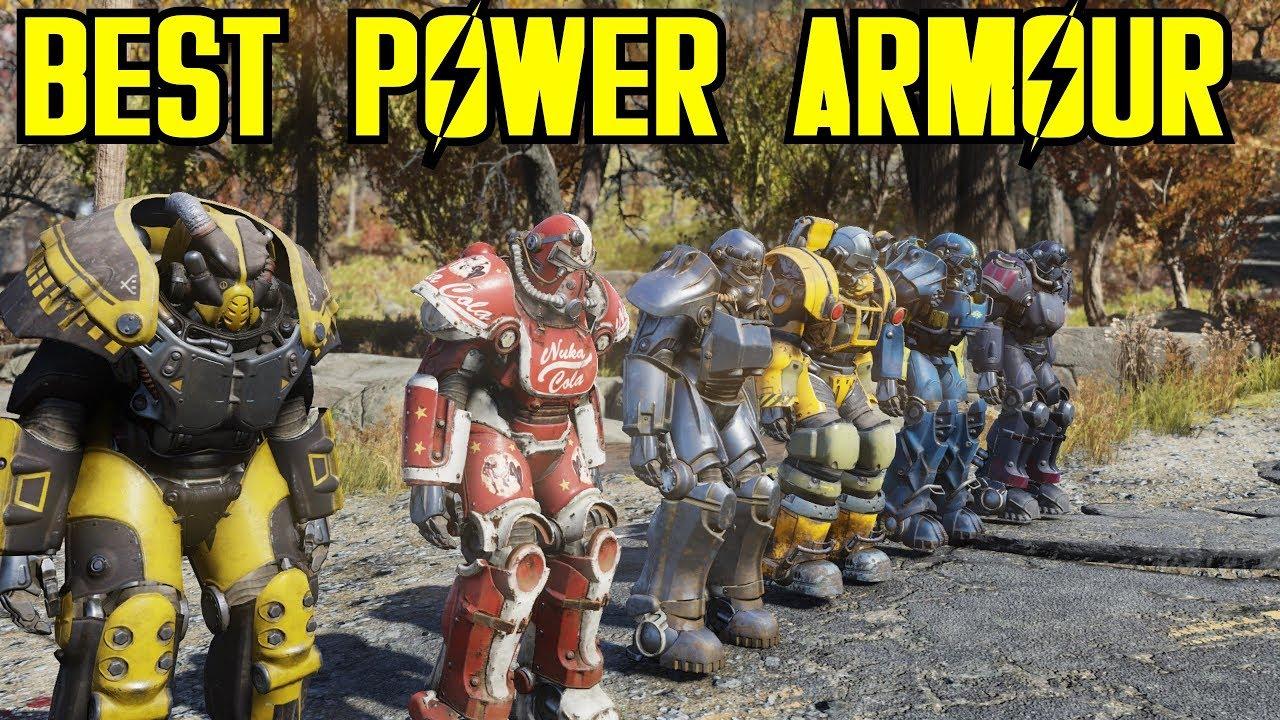 Best power armor