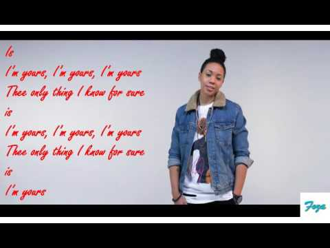 Tyra B -Im yours Lyrics