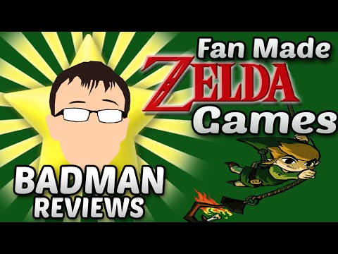 Fan Made Zelda Games Review - Badman