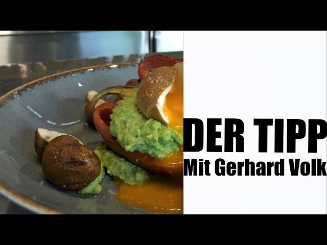 Tpps: Bio Ei/Erbsen-Püree/Paprika/Champignons/Buchenrauch  | #GRILLDOCHEINFACH