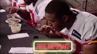 Kansas City Chiefs Rookie try Kc BBQ for the First time!!!!!!!!😱😱😱😱😱😱