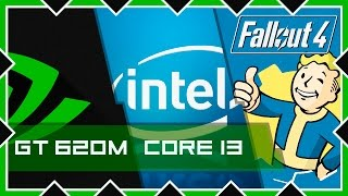 Тестируем FALLOUT 4 на Intel core i3 - 4GB RAM - GT 620M