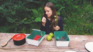 Vegan Recipe: Berry, Apple & Rhubarb Compote