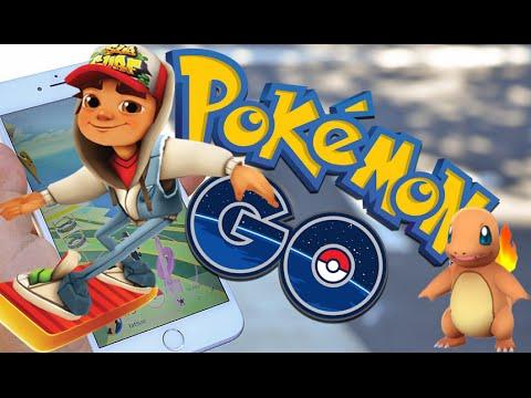 Pokemon GO VS Subway Surfers RiO IPad Gameplay HD