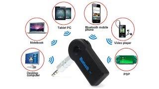 Универсальный 3.5 мм беспроводной Bluetooth Car Kit AUX Адаптер