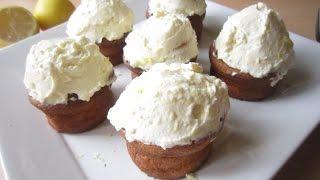 Recipe: Lemon Cupcakes W/ Creamcheese Frosting