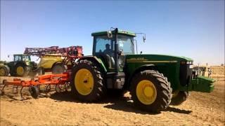 John Deere 8110 SUPER SOUND !! AgroGlobal 2016