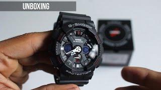 CASIO G-SHOCK GA-120-1ADR Unboxing !!