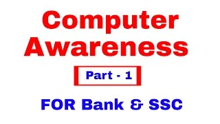 Computer Awareness for Bank PO   Clerk   SSC [I...