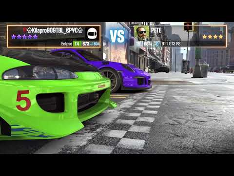 Csr Racing 2 Mitsubishi Eclipse Brian Fast & Furious Fully Upgraded