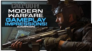 Finally a New Engine?! | Call of Duty: Modern Warfare Gameplay Impressions!