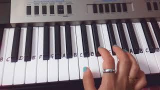 Chalti hai kya 9 se 12   Keyboard Tutorial Harmonium  Easy Tutorial for beginners Nau se Barah