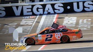 Brad Keselowski arranca playoffs con triunfo | NASCAR | Telemundo Deportes