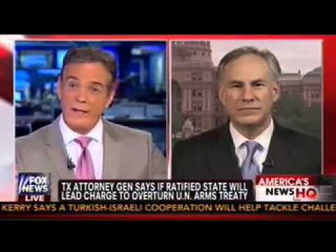 TX Attorney General Greg Abbott on Fox News with John Roberts