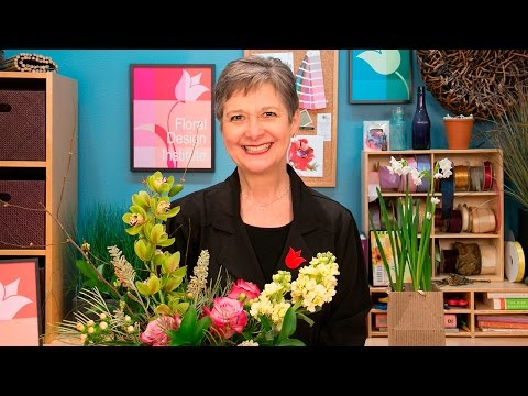 The Elements And Principles Of Floral Design Youtube