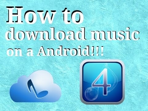 How to Download Music on a Android No Computer