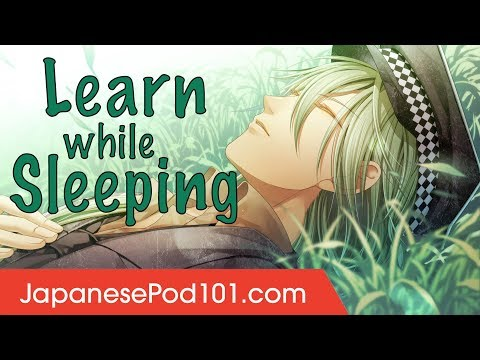 Learn Japanese While Sleeping 8 Hours - Learn ALL Basic Phrases