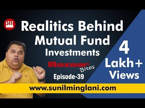 Realities Behind Mutual Fund Investments (In Hindi) || Bazaar Bites Episode-  || Sunil Minglani
