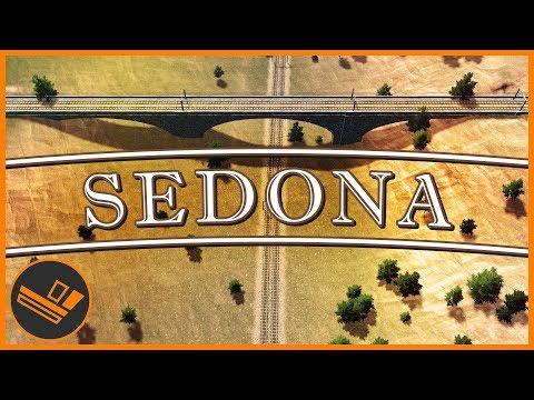 Sedona - Part 9 | TRAINS (Cities: Skylines)