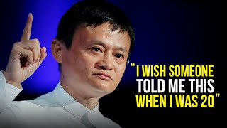 ... jack ma talks about the advice he would give to young people as they embarked on their path for future career. speaker...