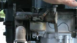 Briggs and Stratton early vertical carb adjustment