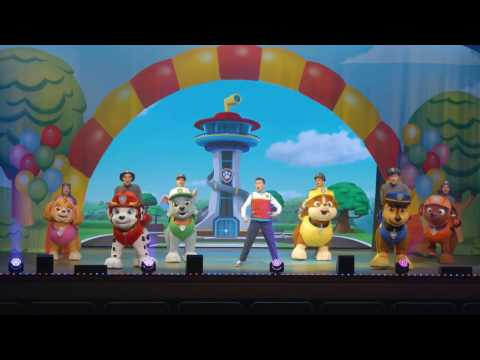 PAW Patrol Live! UK tour