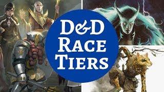D&D RACES RANKING