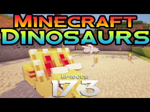 Minecraft Dinosaurs! - Episode 173 - Big mammoth is big!