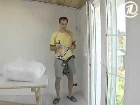 видео: Как правильно установить натяжной потолок