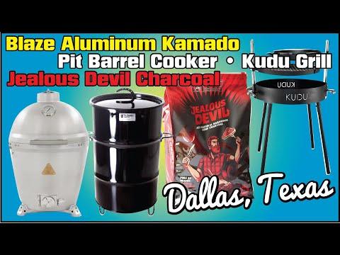 Blaze Kamado Pit Barrel Kudu Grill Jealous Devil Charcoal BBQ Champion Harry Soo SlapYoDaddyBBQ.com
