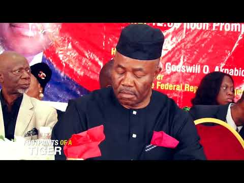Footprints of A Tiger: A Documentary on The Scholarship & Bursary Award By Sen. Akpabio