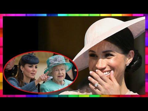 Meghan Markle déjà plus influente que Kate Middleton et la reine Elizabeth II ?