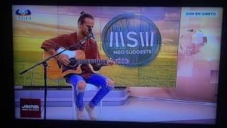 Diogo Piçarra - Dialeto (Acústico) | Jornal das 20h SIC 02/08/2016