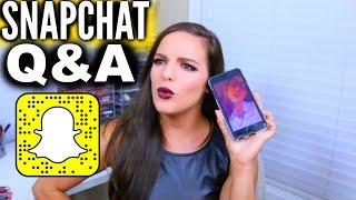 SNAPCHAT Q&A! | Casey Holmes