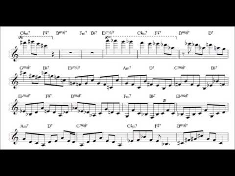 Joey Alexander - Giant Steps Improvisation Transcription