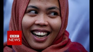 Kim Jong-nam: Indonesian woman accused of murder freed- BBC News