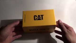 Unboxing Cat S50 Smartphone