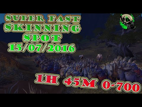 0-700 Super Fast Skinning Spot Warlords of Dreanor[15/07/2016] - Wolrd of Warcraft WoD