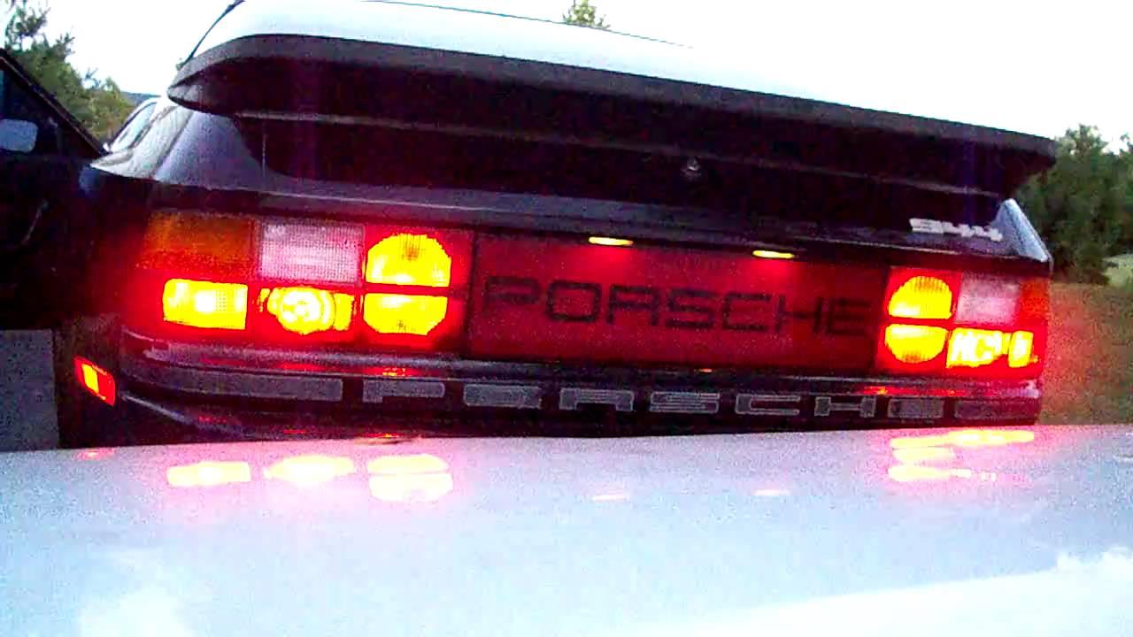 Porsche 944 Brake Light Modification Youtube
