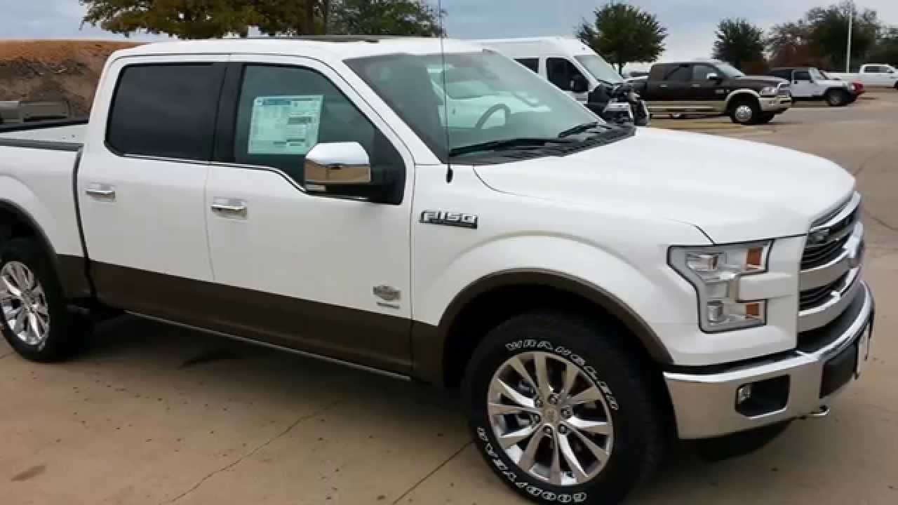 First all new 2015 ford f150 king ranch 4x4 youtube