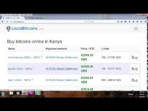 How To Buy Bitcoins In Kenya