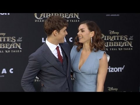 "Brenton Thwaites and Chloe Pacey ""Pirates of the Caribbean: Dead Men Tell No Tales"" US Premiere"