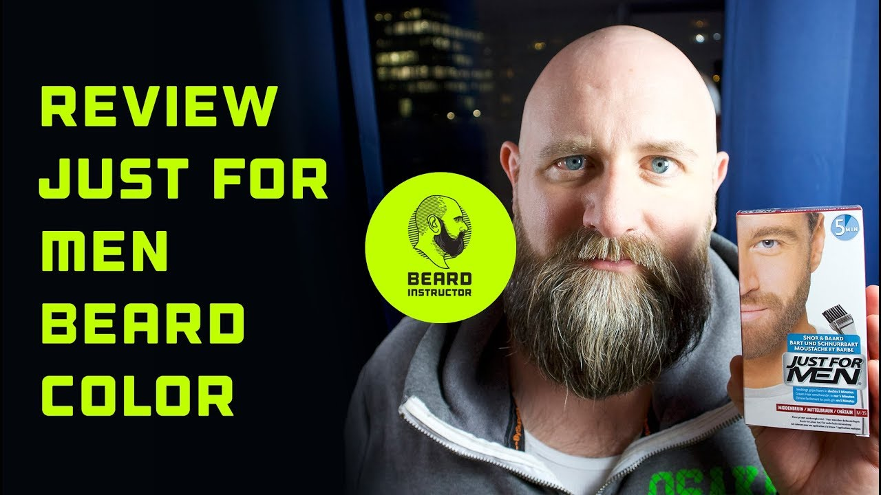 Review: Just for Men beard color | Beard Instructor