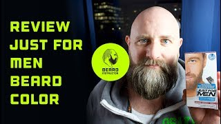 Review Just For Men beard color | Beard Instructor