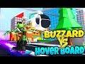 *NEW* HOVER BOARD VS BUZZARD! ROBLOX: Mad City