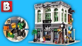 Lego Creator Brick Bank Set 10251 | Unbox Build Time Lapse Review