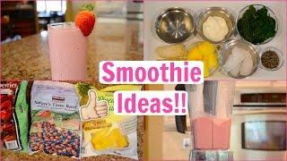 3 Healthy Smoothie Recipes!! Everyday Gymnastics