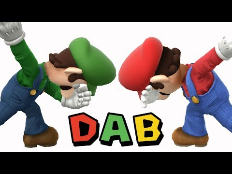 Every Character Doing Luigi&39;s Dab in Super Smash Bros Wii U Mods